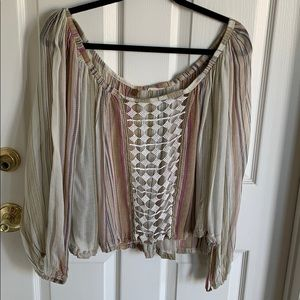 Free people boho blouse